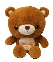 عروسک خرس قهوه ایی